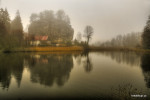 Foto Petr Germanič, Hrad Sloup v mlze