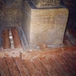 10) Podlaha přední části - průběh opravy