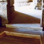 12) Podlaha zadní části - po opravě
