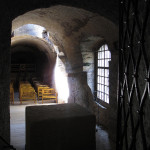 Kostel od sakristie