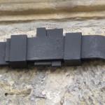 Detail spojení 4 dílů obruče