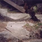 3) Horní podesta před opravou