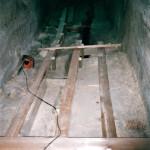 3) Podlaha průběh opravy