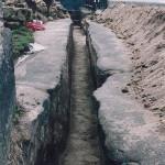 4) Celý výkop od lucerny
