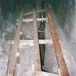 4) Podlaha průběh opravy