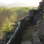 4) Terasa spodní, západní část po celkové opravě.