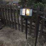 Nasvětlení horních staveb zblízka