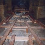 5) Podlaha přední části - průběh opravy