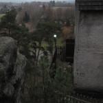 Nasvětlení lucerny zblízka