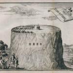 Nejstarší známé vyobrazení z r.1712