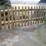 Ukázka vyměněných částí plotů (2)