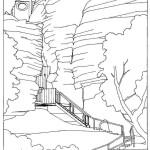Obnova severního vstupu - výsek ze studie (3)