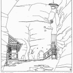 Obnova severního vstupu - výsek ze studie (4)