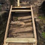 Dolní schodnice s rybinovými drážkami