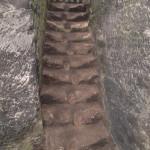 Očištěné schody