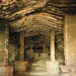 Barokní grotta, dnes bez dekorativních vrstev. Foto I. Ulrich