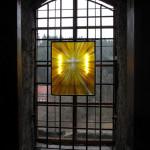 Kukátkové divadlo - možnost podsvětlení skleněného obrazu Nanebevstoupení