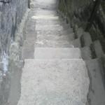 Nevhodné betonové plomby před odstraněním