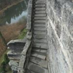 Doplnění a vytvarování stupňů použitím technologie románského cementu.