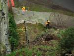 Stavba víceúrovňových ochranných sítí