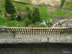 Rekonsruovaný můstek a plot vcelku