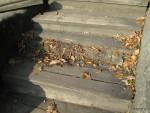 Výměna schodu