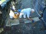 Přemostění skalní spáry
