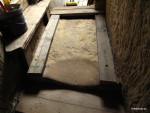 Vyztužení schodiště a upevnění polštářů